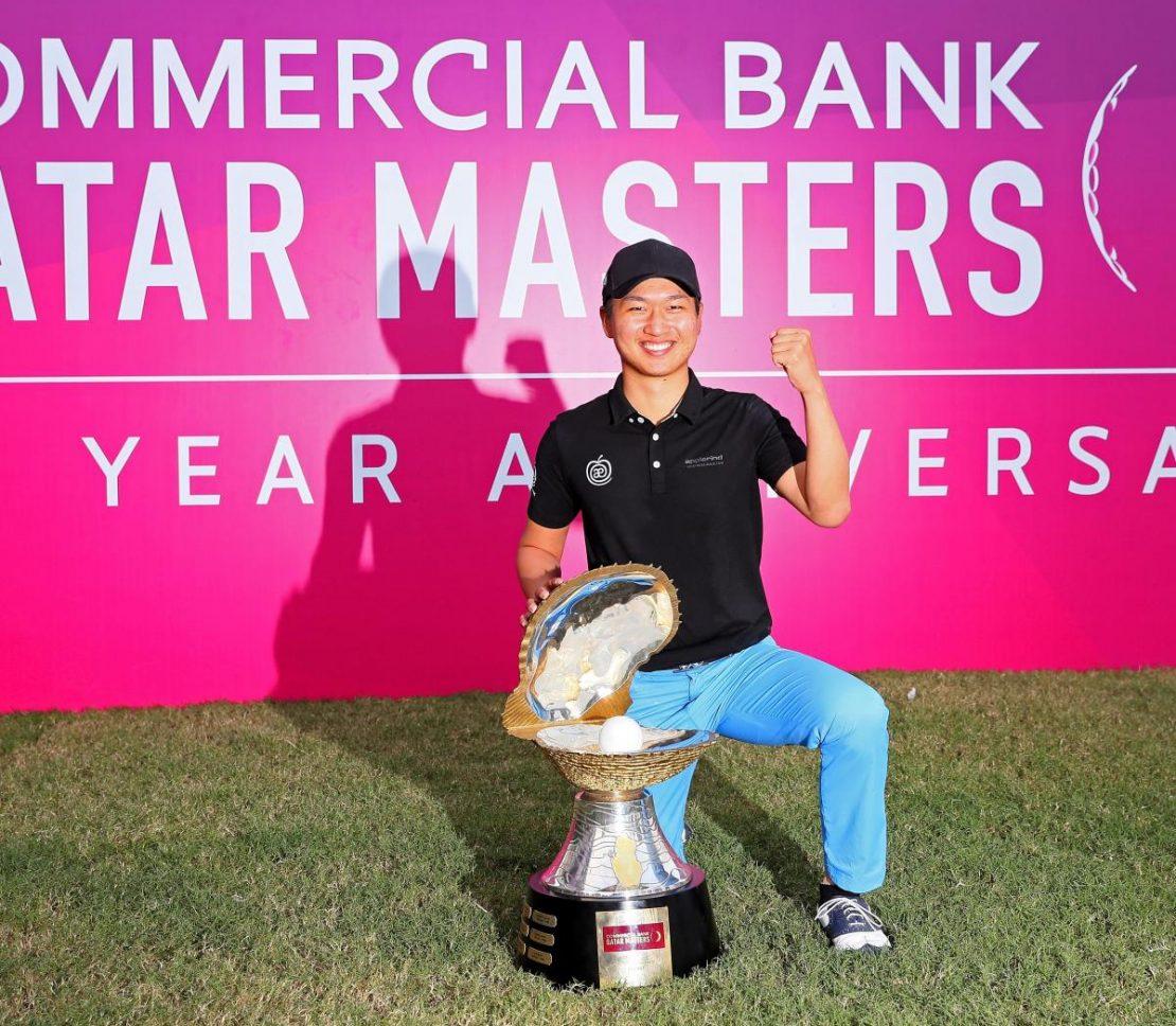 Wang Jeung-hun: First Asian to win CB Qatar Masters title